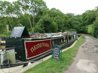 Cheese boat Kennet and Avon canal
