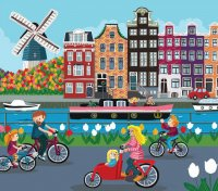 Dutch Springtime by Sophie Rohrbach