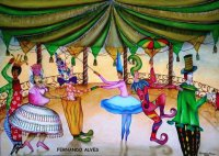 Circus acts by Fernando Alves