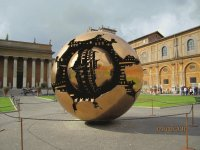 Sphere at the Vatican Museum