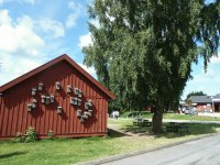 Barn with nest boxes Sweden
