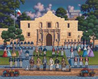 The Alamo by Eric Dowdle