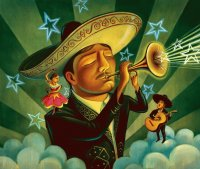 Mexican Mariachi by Chris Buzelli