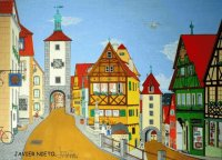 German village by Javier Nieto