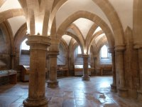 Undercroft Wells Cathedral