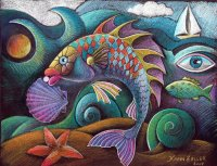Fancy Fish by Karin Zeller