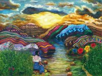 Guatemala Song to Nature by Poula Nicho Cumes