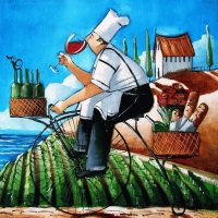 Chef  's delivery by Ronald West