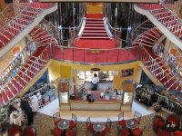 Inside cruise ship
