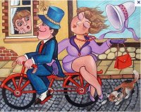 Bicycle ride by Lubov Toteva