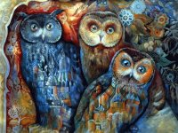 Owls by Oxana Zaika