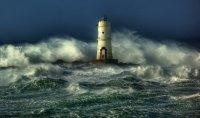 The angry Seas