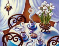 Coffee time by Tracy Turner