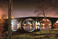 Stirling Bridge night