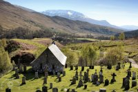Cille Choirill Church - Highlands Scotland