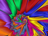 Bright Coloured Fractal