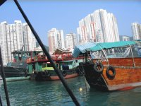 Hong Kong fishermen village