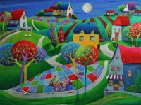 Village by Iwona Lifsches