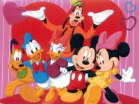 Mickey mouse e turma