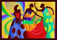 Dancing African Ladies