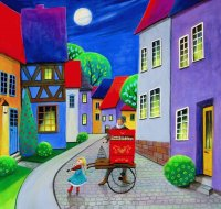 Music in the Street by Iwona Lifsches