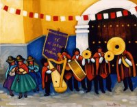 Peruvian Band by Patricia Henricy