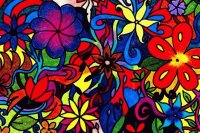 Flowerful art by Militao dos Santos