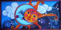 Sun and Moon by Laurie Miller