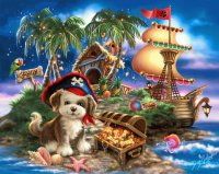 Pirate Puppy by Dona Gelsinger