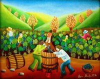 In the Wineyard by Doina Marita Hlinka