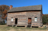 James K. Polk 's childhood cabin