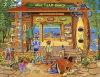 Mike 's Bait Shop by Sandy Rusinko