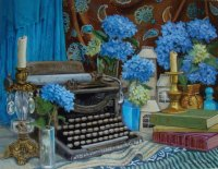 Old Typewriter by Joy Campbell
