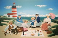 Picknick at the Seaside by Jean Pierre Lorand
