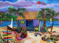 Beach Shop by Patti Schermerhorn