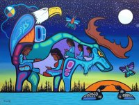 Native Indian art by Mark Jacobson