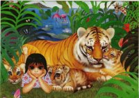 Small Paradise by Margaret Keane