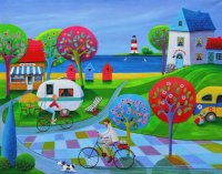 The Camping by Iwona Lifsches