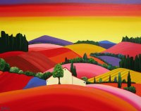 Burgundy France by Brigitte Duhue