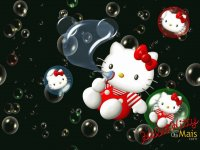 hello kitty bolhas