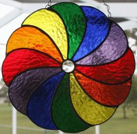 Coloured Pinwheel