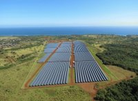 Kauai Island solar array