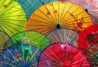 Umbrella 's from Chiang Mai  Thailand