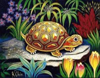 Turtle by K. Chin