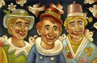 The Clowns by Roberto Sguanci