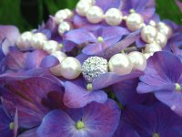 Pearls on Flowers