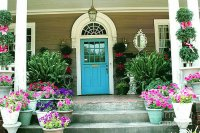Gorgeous Flowery Entry