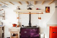 Purple Retro Stove