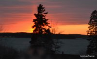Sunset from Campobello, NB Canada
