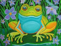Frog on a Lily pad